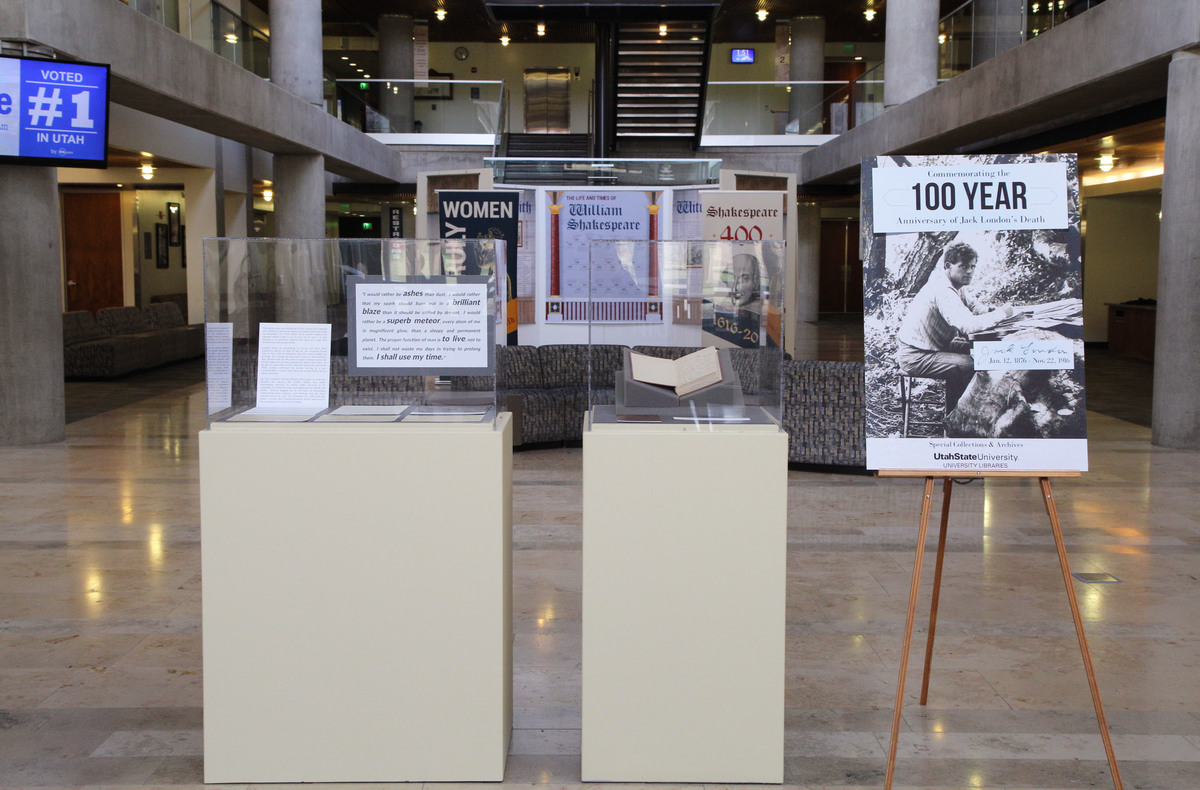Jack London 100-Year Anniversary Pop Up Exhibit