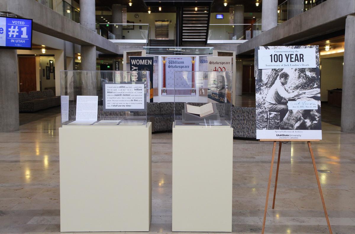 Jack London 100-Year Anniversary Pop Up Exhibit