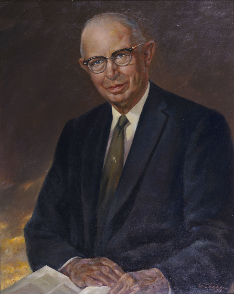 W. Preston Thomas Portrait