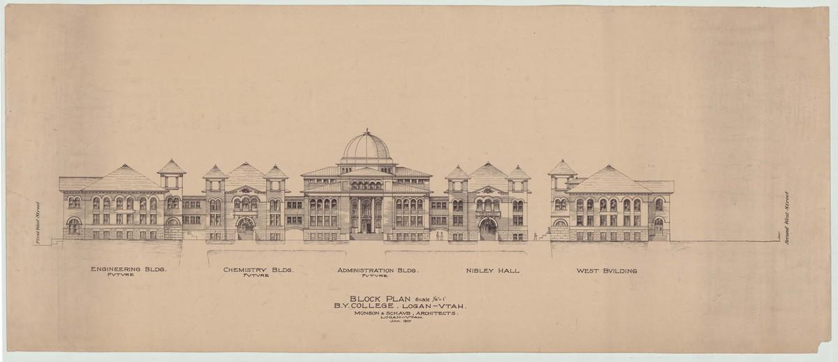 Block Plan of BYC, 1907