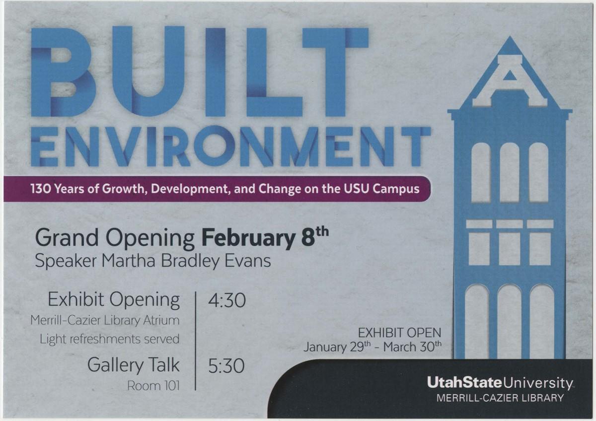 Built Environment Flyer