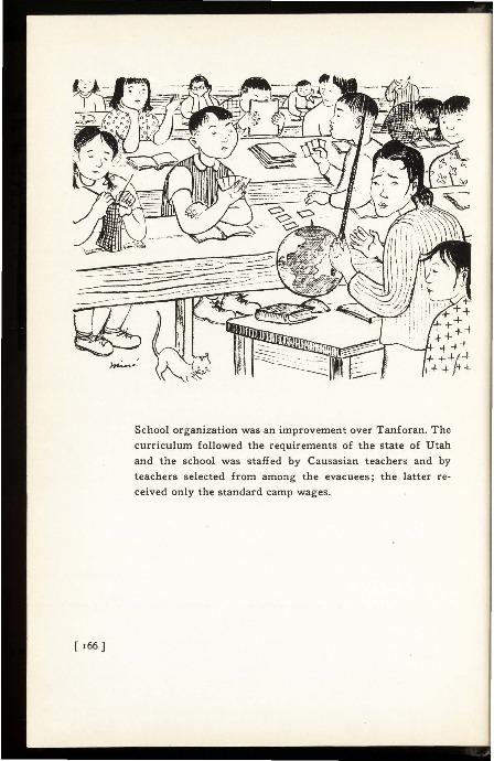 Illustration of High School class