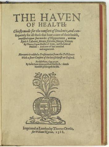 The Haven of Health: Title Page