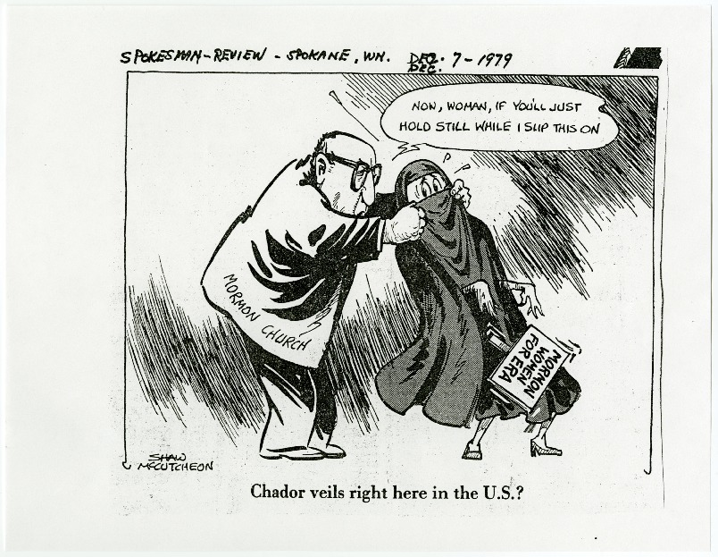 Chador veils right here in the U.S.?