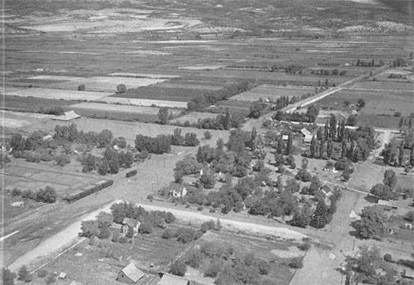 Unidentified Mormon Village