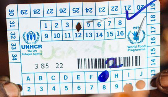 UNHCR Ration Card