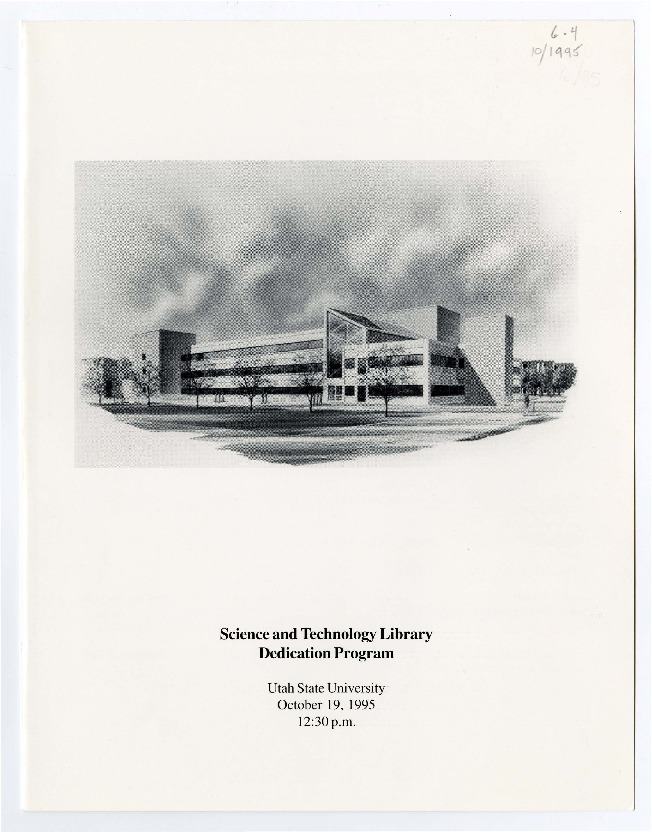 USU Science and Technology Library Dedication Program<br />