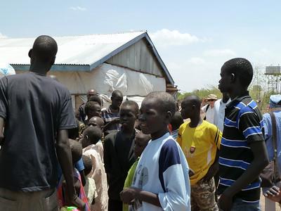 Refugees in Kakuma Refugee Camp<br />