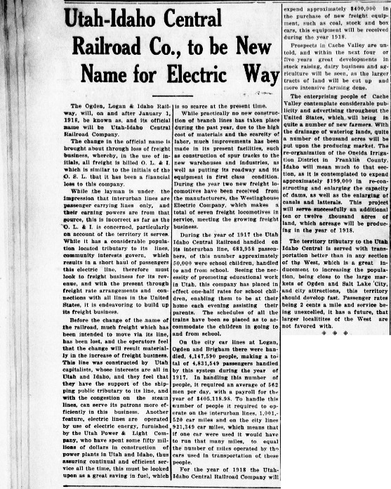 Logan_Republican_1917_12_18_Utah_Idaho_Central_Railroad_Co_to_be_New_Name_for_Electric_Way.pdf