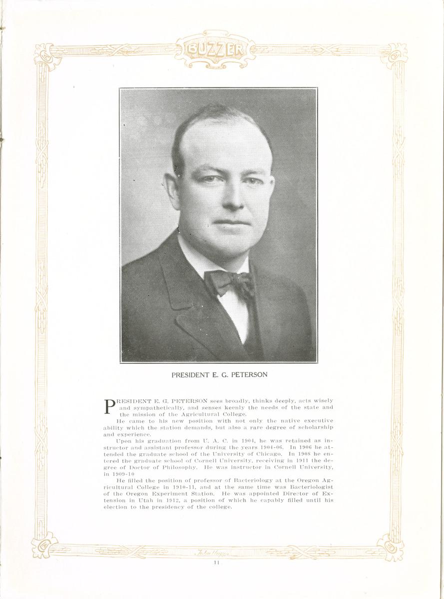 1917 UAC Buzzer School Presidents, 1916 page 1