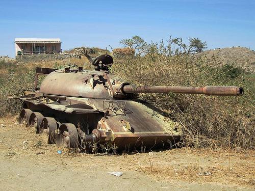 Soviet Tank in Northern Eritrea