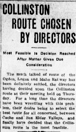 Logan_Republican_1915_02_06_Collinston_Route_Chosen_by_Directors.pdf