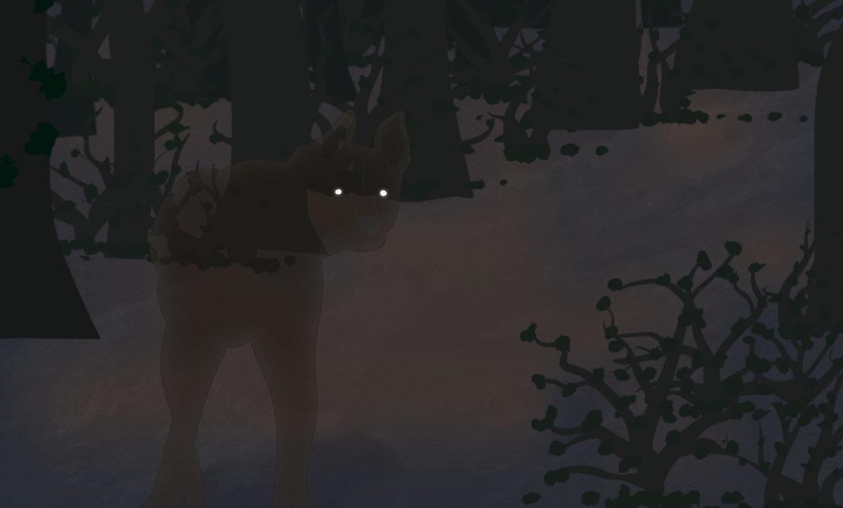 Haunting Dog