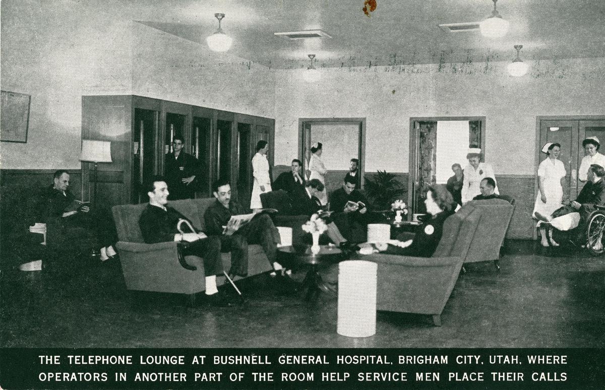 Bushnell telephone lounge