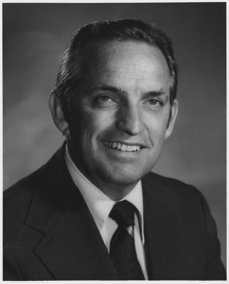 Stanford O. Cazier, University President, 1979-1992