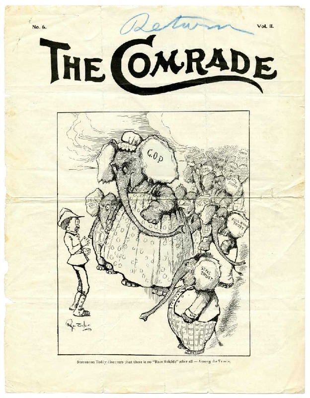 How I Became A Socialist- article in the Comrade, March 1903
