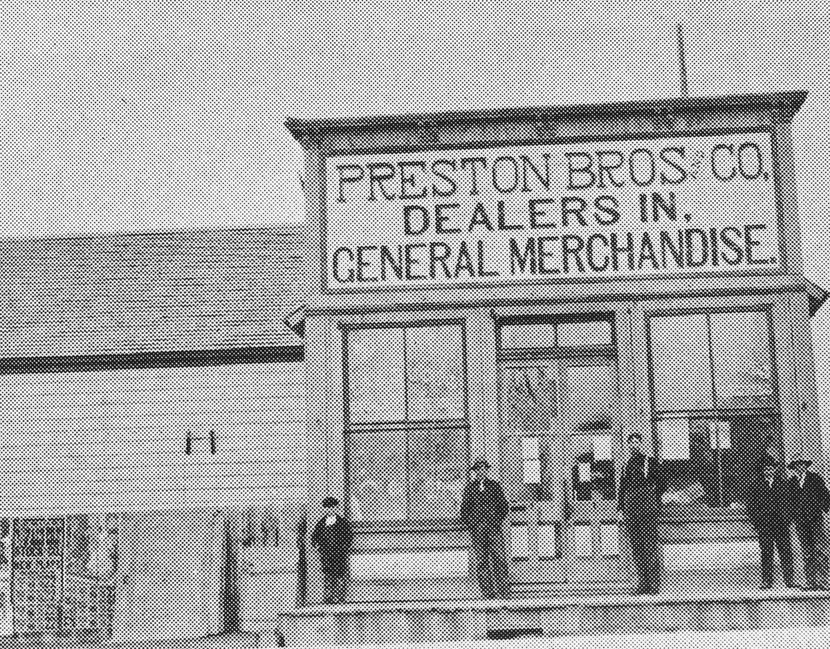 Preston Brother's Store, ca. 1890;