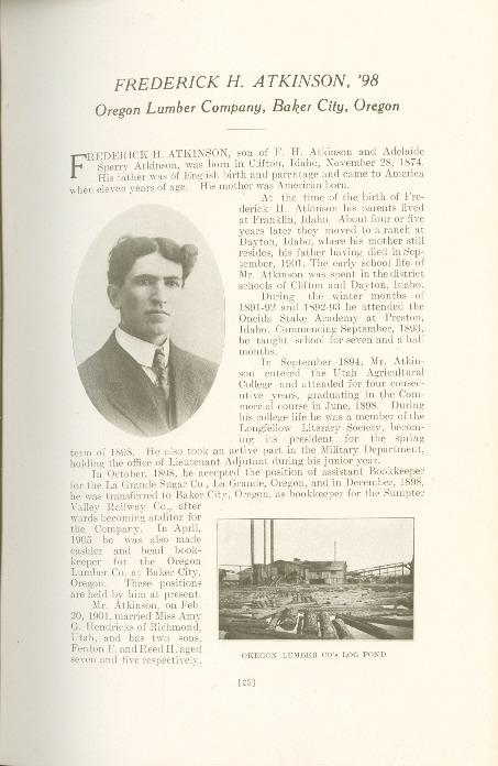 1909 A.C.U. Graduate Yearbook, Page 25