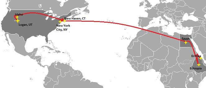 Afeworki's Journey