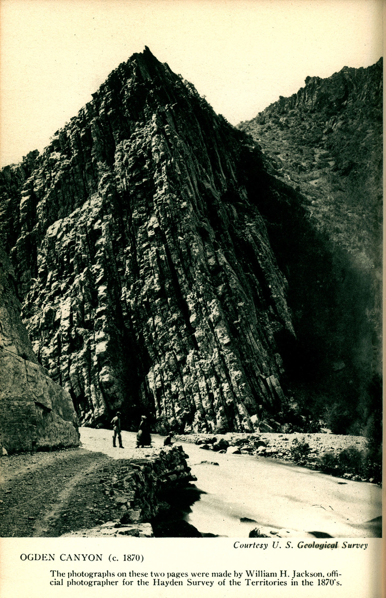 Utah State Guide Image of Ogden Canyon