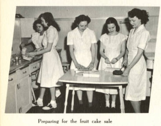 Home Ec Club Fruitcake Sale Buzzer 1948 p141.jpg