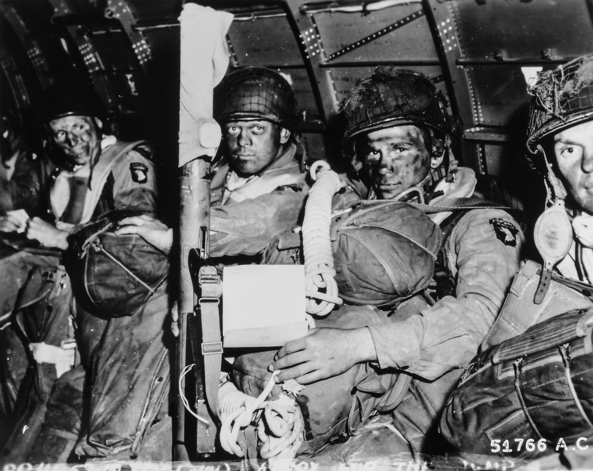 Paratroopers on D-Day