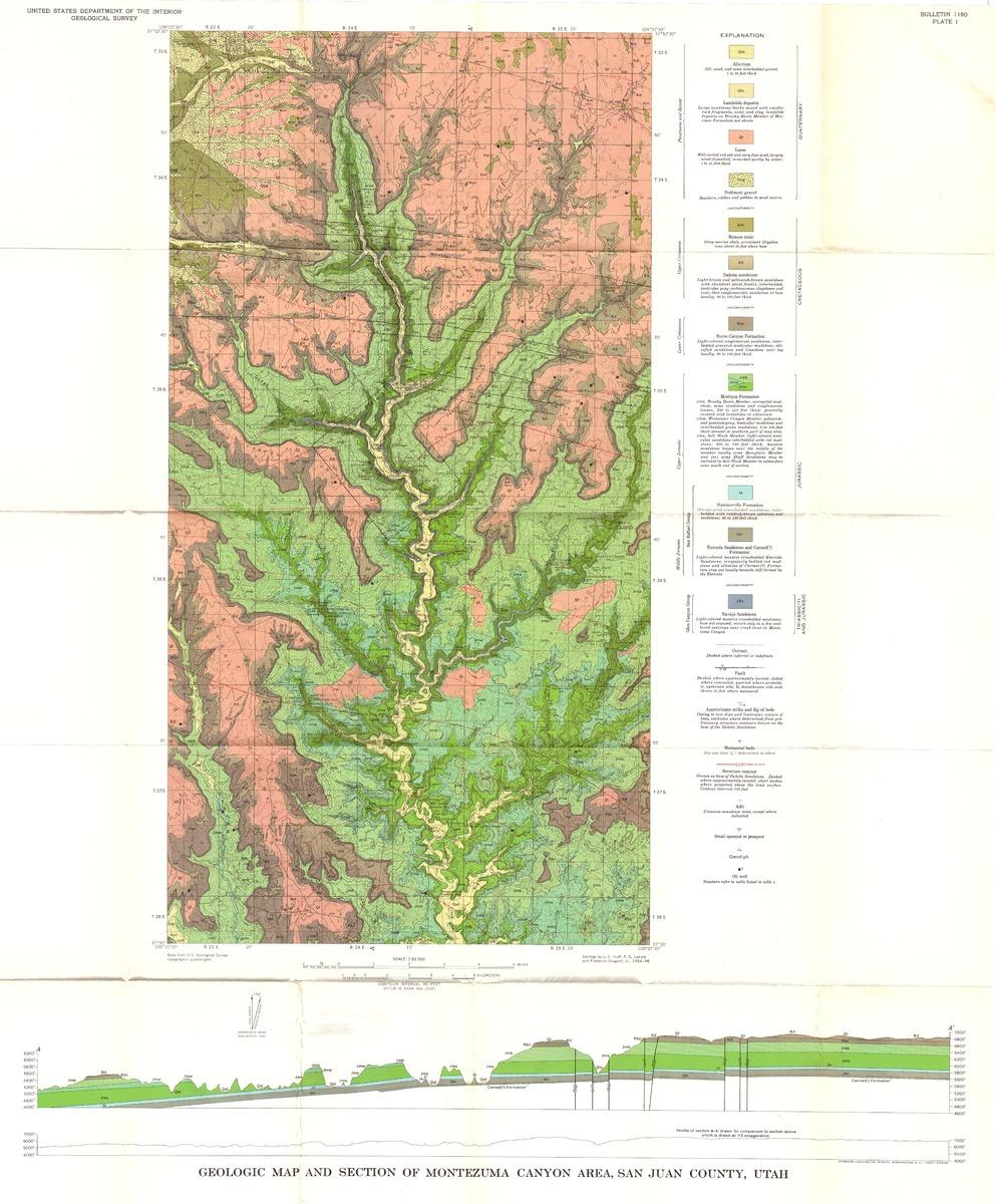 Geology of Uranium Map