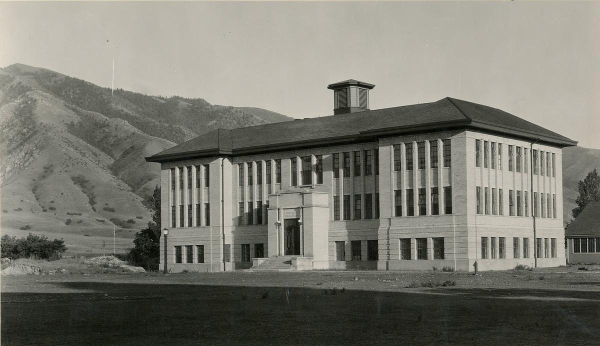 Education Building (Ray B. West), circa 1918