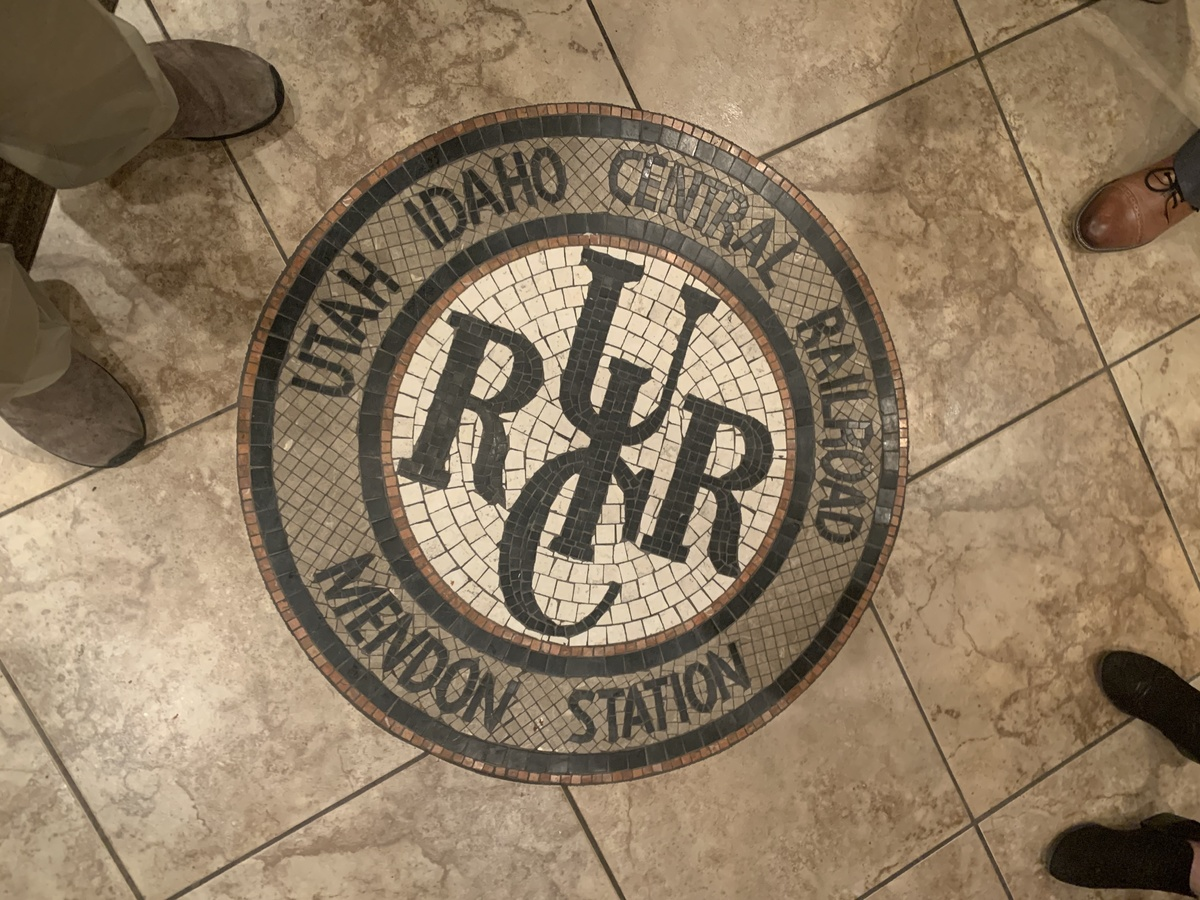 The Logo of the Utah-Idaho Central Railroad<br />