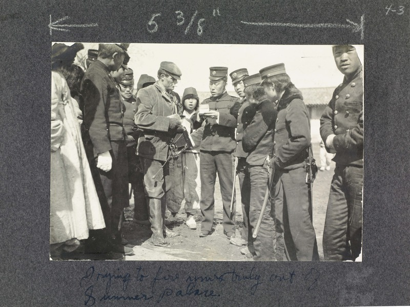 Jack London and Japanese soldiers