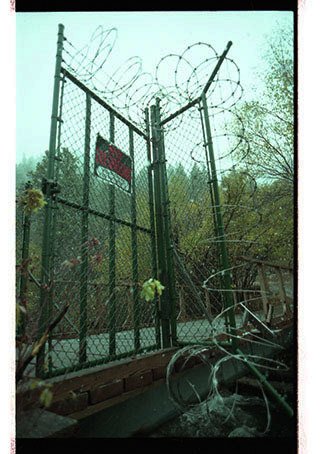 Barbed wire fence at St. Anne's Retreat - Image 16 of 16