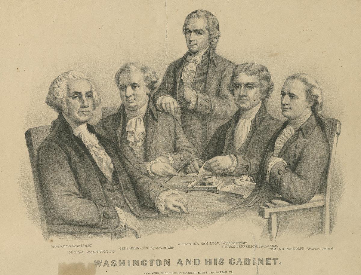 Washington_and_His_Cabinet_(4360094798).jpg