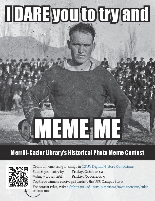 2018 Historical Photograph Meme Contest Flier
