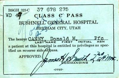 Bushnell patient pass