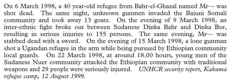 UNHCR Letter