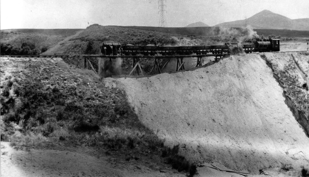Construction of O.L.I. Rail Lines over the Collinston Divide, 1916<br />