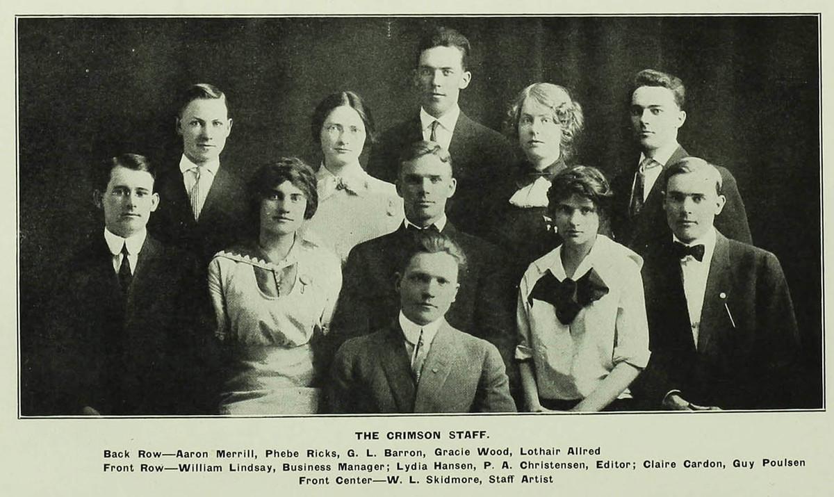 The 1913 Crimson Staff