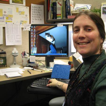Melanie Shaw, Cataloger, Merrill-Cazier Library
