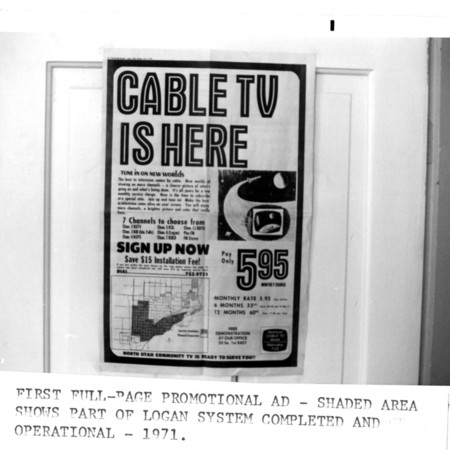 Northern Utah Community Television (NUCTV) promotional advertisement.