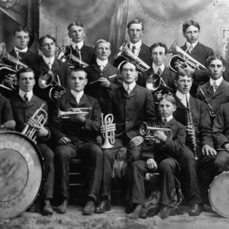 Mendon Social band, 1903
