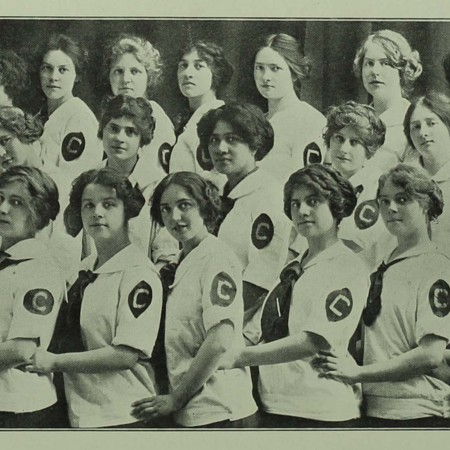 The Crimson Girls (1913 Crimson Annual)