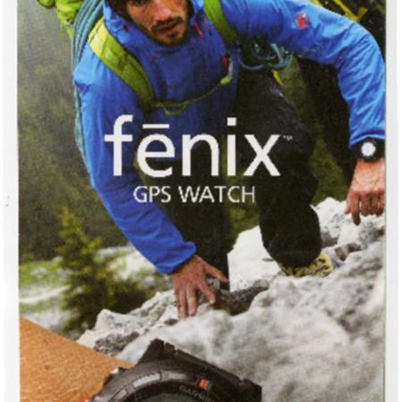 Garmin, Fenix GPS watch, 2012