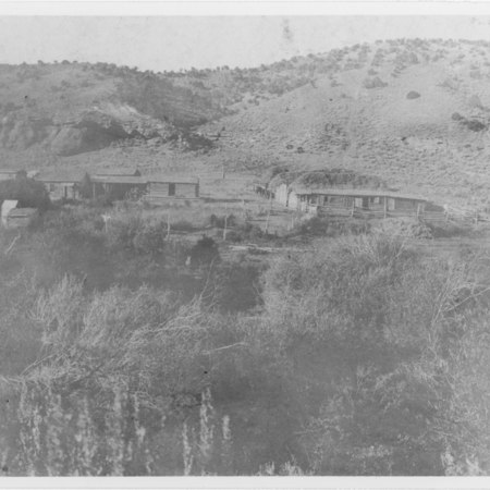 William Smith Ranch near Woodruff, Utah, 1890's