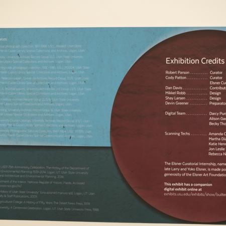 Physical Exhibit-Credits