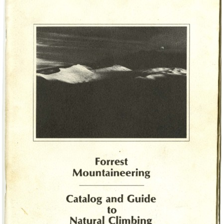 Forrest Mountaineering, 1974