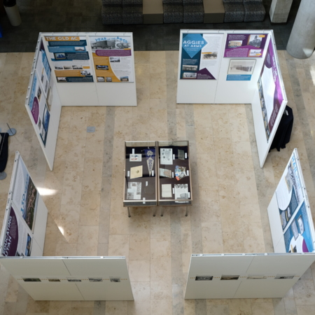Physical Exhibit-Aerial View 2