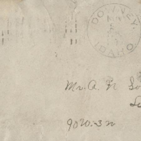 Correspondence from J.A. Gardner to Alma N. Sorensen, November 20, 1906