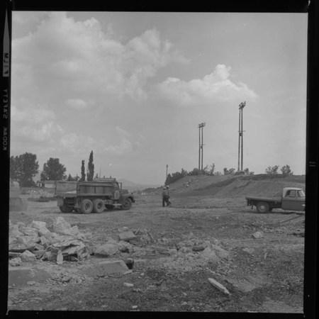 Progress Shot Tearing Down Romney Stadium (3 of 4), 1969