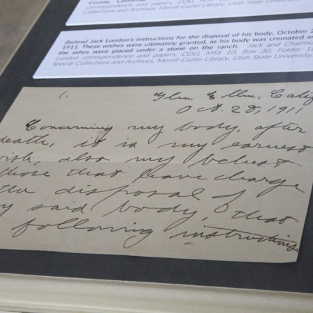 Jack London Pop-Up 100: Letter