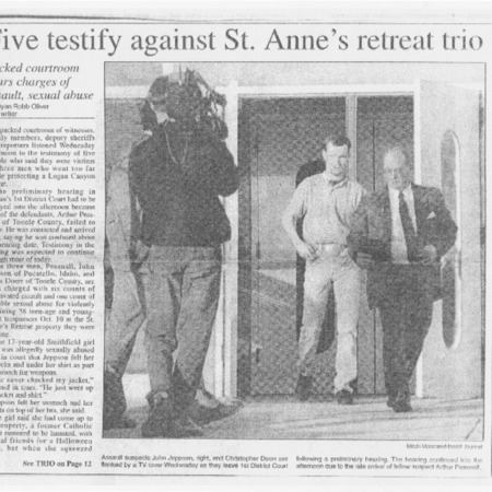 Five testify against St. Anne's retreat trio